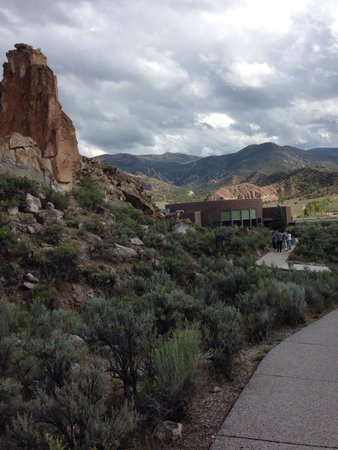 Fremont Indian State Park and Museum: August 2014 - visible from the cement walk near the Museum
