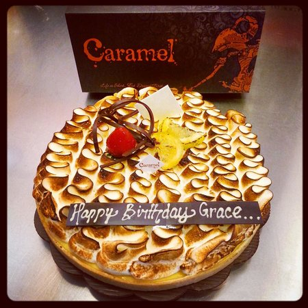 CarameL Ubud: Lemon Tarte