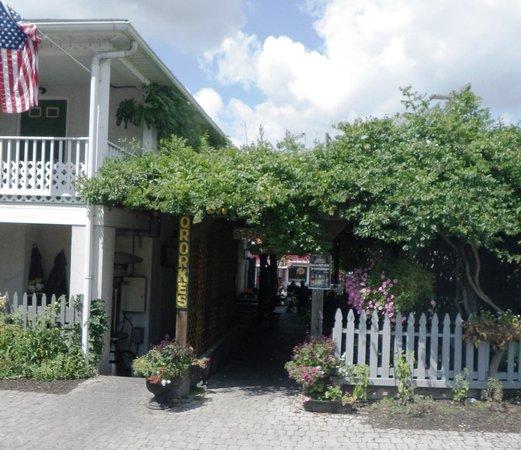 O'Rorke's Eatery & Spirits: E Entrance to Patio