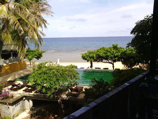 West Coast Beach Resort : vue de notre chambre