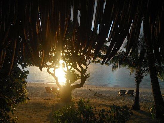 Pacific Resort Aitutaki: Sunset from balcony