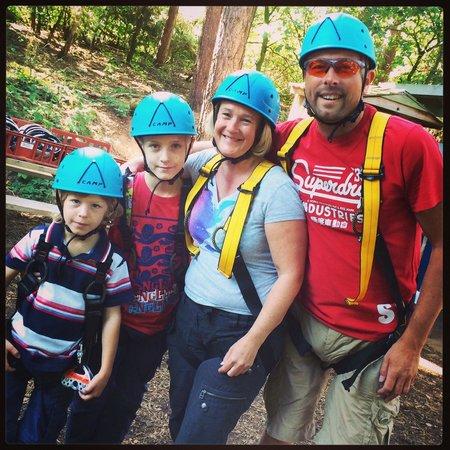Center Parcs Sherwood Forest : Climbing adventure