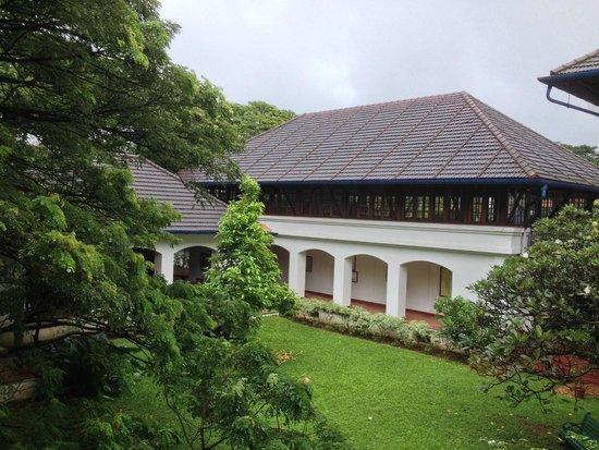 Brunton Boatyard : The beautiful courtyard