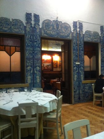 Casa do Alentejo : Inside the restaurant - just one of the rooms