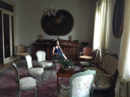Villa Maria: Отель Вилла Мария, гостиная