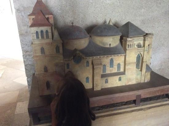 Cathédrale Saint-Étienne : maquette de la cathedrale