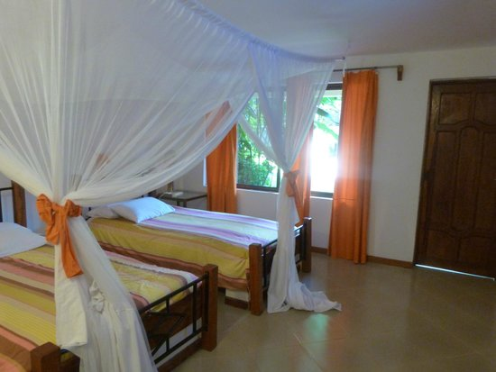 room in the A section of the OutPost Lodge in Arusha