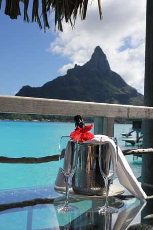 InterContinental Bora Bora Resort & Thalasso Spa: View from the Porch