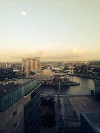 Holiday Inn Manchester MediaCityUK: The view from room 1131