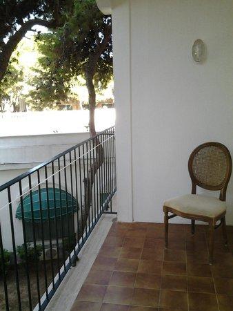 Eden Park Hotel: Balcone