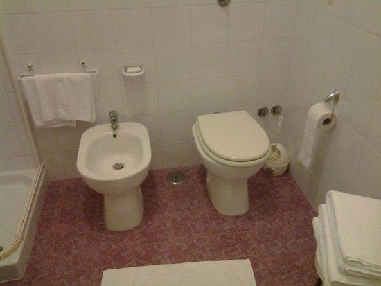 Hotel Eden Park: Sanitari bagno