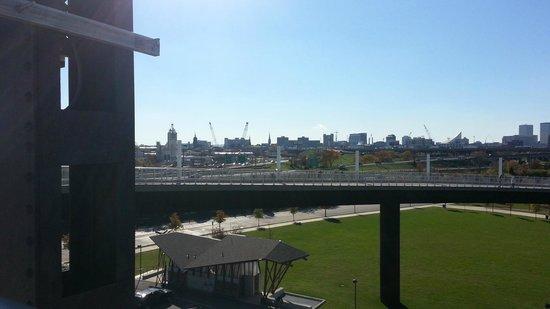 The Big Four Bridge: A view towards Louisville