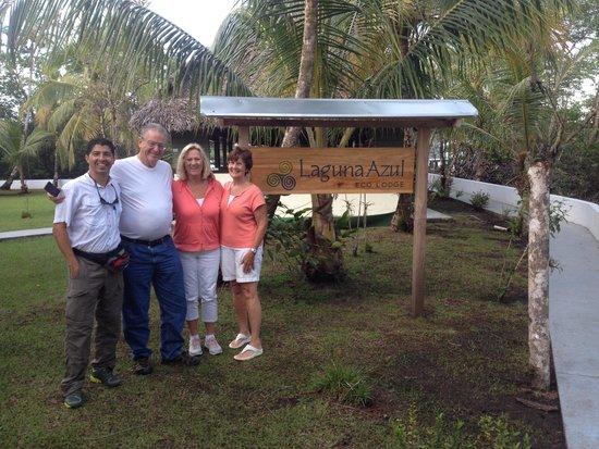 Laguna Azul Eco Lodge: un equippo de primera en servicio