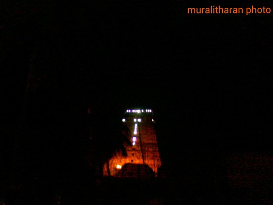 Sri Ranganathaswamy Temple: pleasent night view-MURALITHARAN