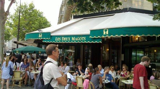 Quartier Saint-Germain-des-Prés : Le Deux Magot
