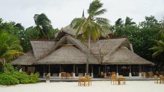 Banyan Tree Vabbinfaru: Bar/Restaurant