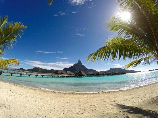 InterContinental Bora Bora Resort & Thalasso Spa: View from Beach Area