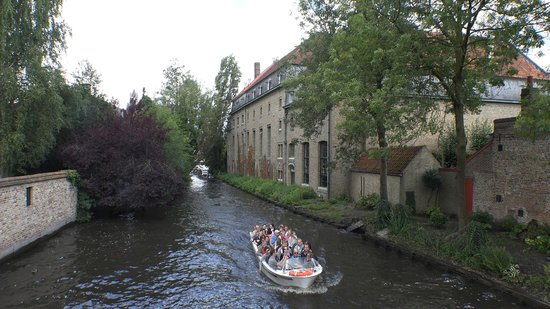 Boottochten Brugge: Bruges, ブルージュ,運河巡り,Canal Cruise