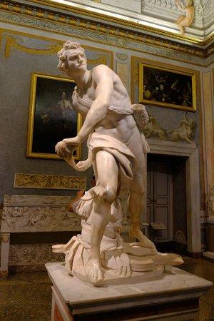 Galería Borghese: David