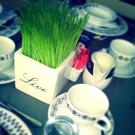 Lidiko Lodge: Coffee time