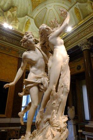 Galería Borghese: Appolo and Daphne