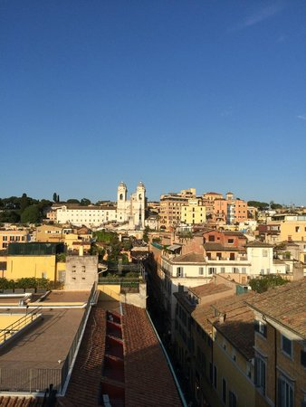 Portrait Roma: View from rooftop