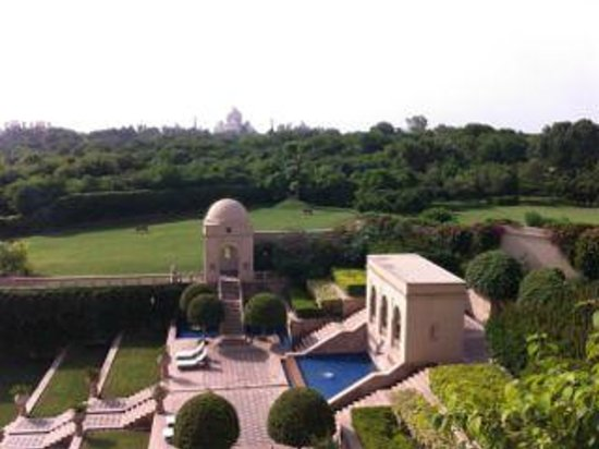 The Oberoi Amarvilas: View from our room