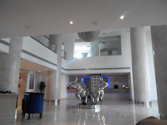 Radisson Blu Kochi: reception area