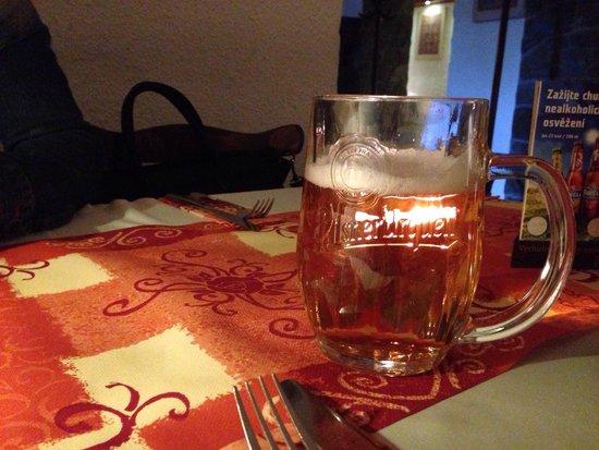 Restaurant U Kaspara: 필스너 우르켈