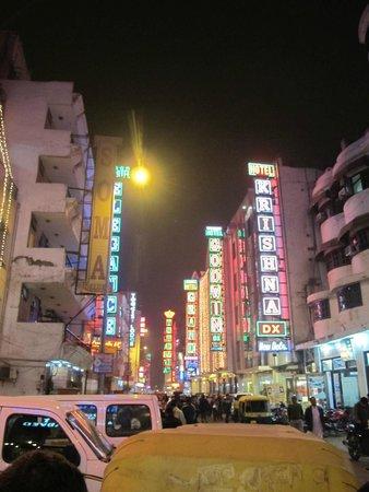Hotel Aura: Улица, на которой расположен отель
