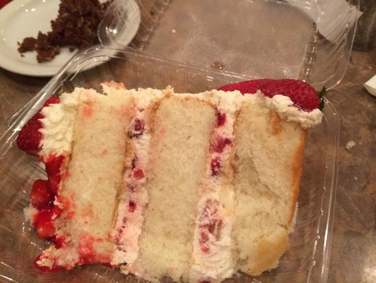 Rosine's Restaurant : One strawberry shortcake!