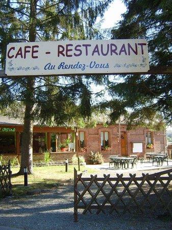 """restaurant """"au rendez-vous"""" au coeur de la forêt d'eawy - photo de"""