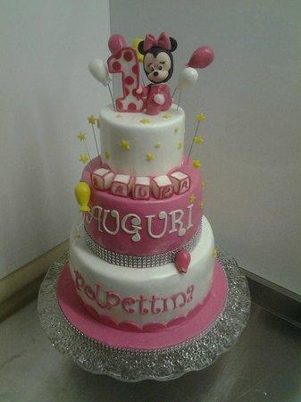 Mr Sweetie: Cake Baby Minnie