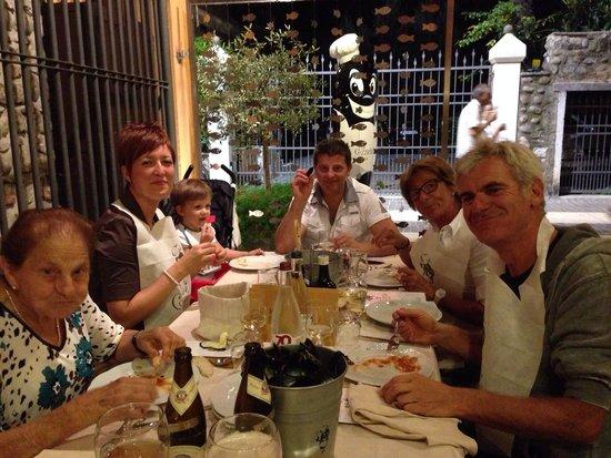 Cozzeria Alle Mura: Bocche piene e contente!!!