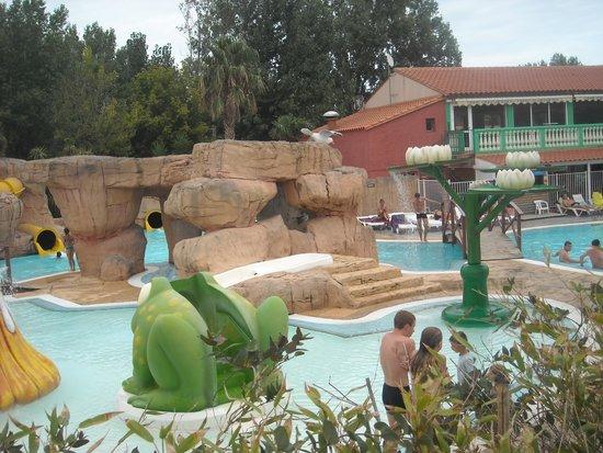 Camping le Front de Mer: piscine