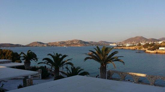 Paros Bay Hotel: Vue de la chambre 116