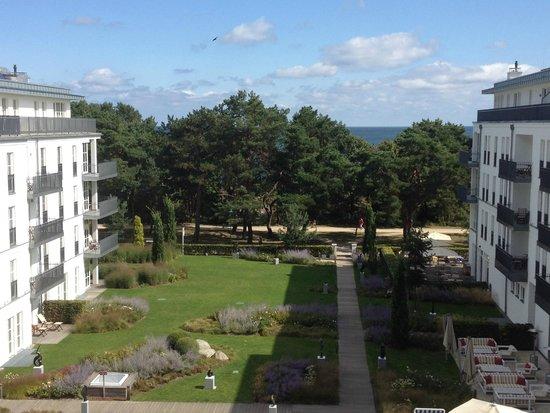 Steigenberger Grandhotel und Spa: Blick aus dem Zimmer 312