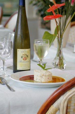 Restaurant les marronniers dans thonon les bains avec for Ai cuisine thonon