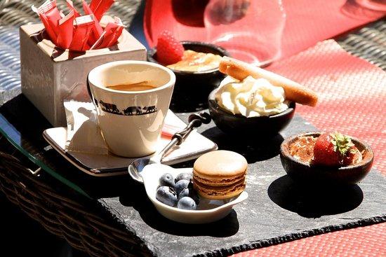 La Grange à Germaine Chalet Hôtel & Sp : Et pour terminer : un café gourmant