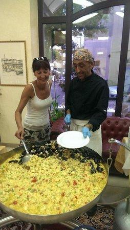 Hotel King : Bravissimo lo chef