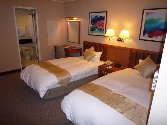 Imperial Hotel Taipei: ベッドルーム