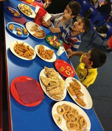 Go Kids Go Leicester: The lovely food. X