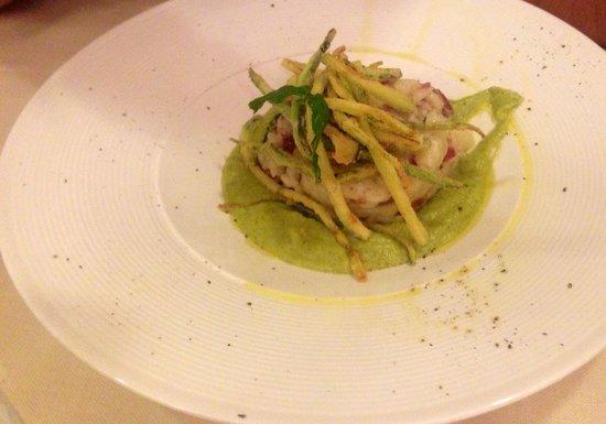 Ristorante Torre di Angelucco: Risotto con capocollo e zucchine.. buonissimo!