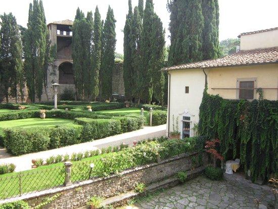 Hotel Villa Casagrande: Cortile interno