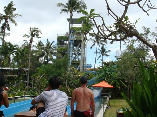 Waterbom Bali: Climax