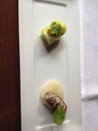 Bussum, Niederlande: Vegetarian Amuse bouche