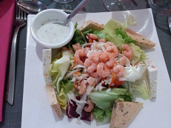 L'Empreinte: Salade de la mer