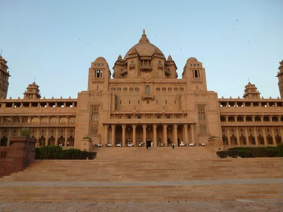 Umaid Bhawan Palace Jodhpur: Palace View