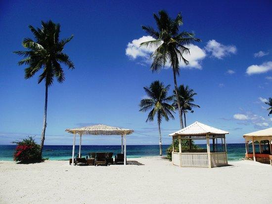 Casa Del Mar Beach Hotel : Вид из номера. Пляж отеля