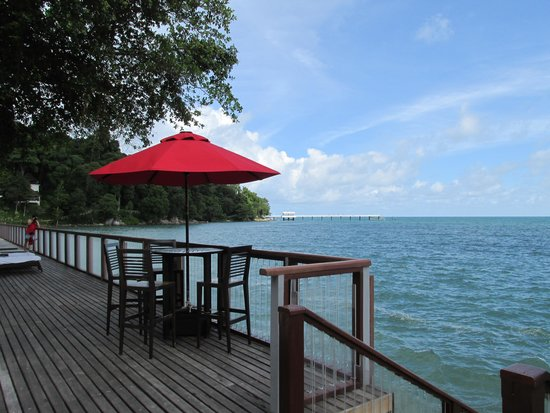 Amari Phuket: View from the deck to the private jetty